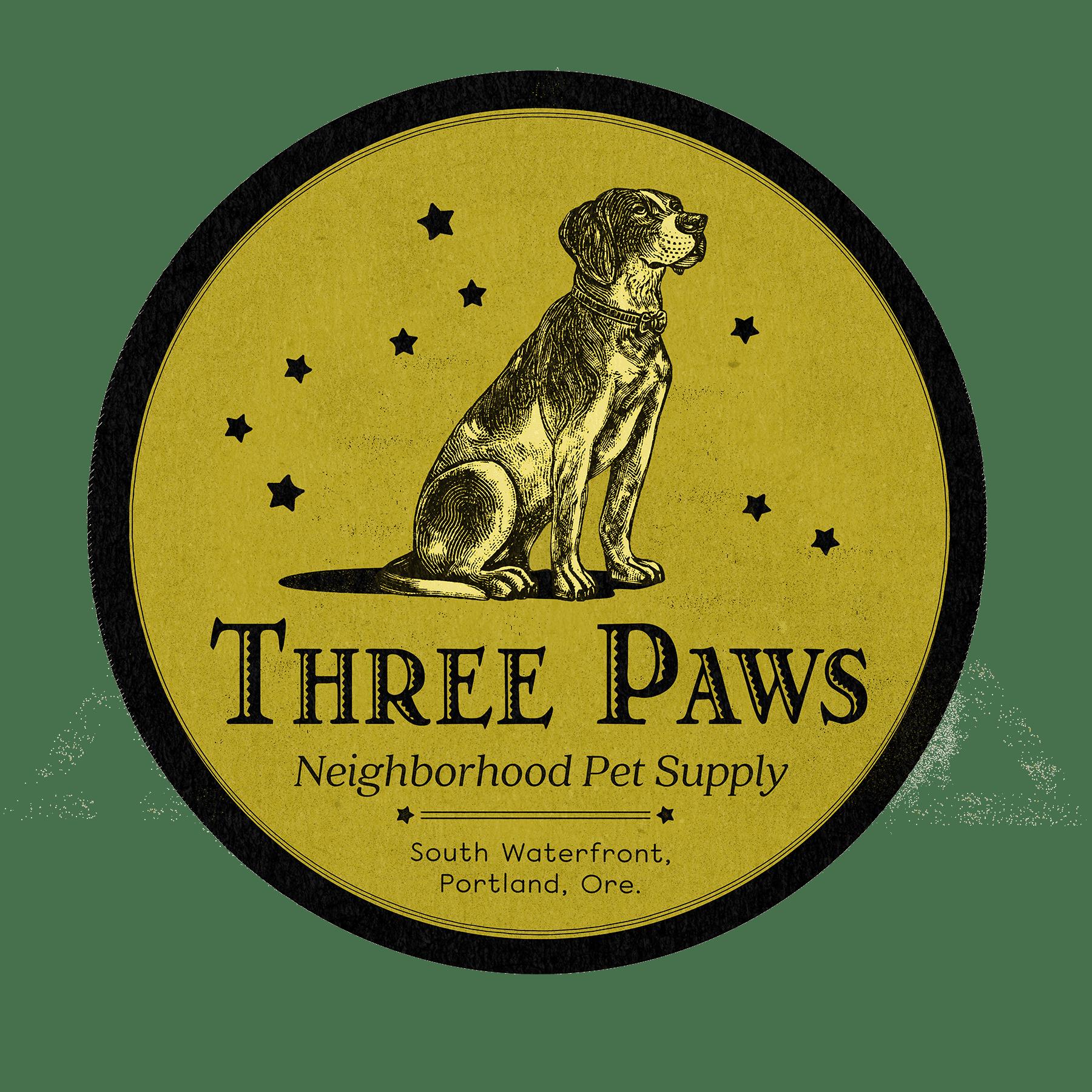 Three Paws Pet Supply